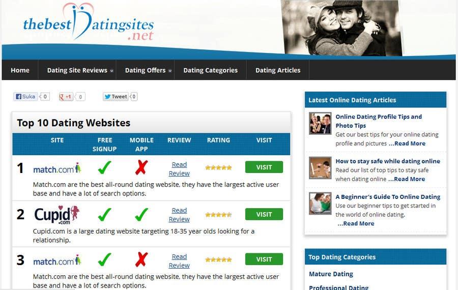 good dating website headers