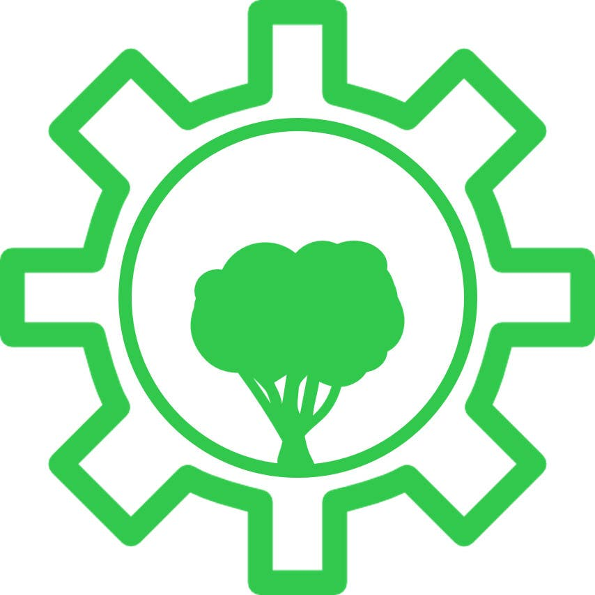 Contest Entry #                                        4                                      for                                         Design a Nature/Technology Logo Symbolizing a balance between the two