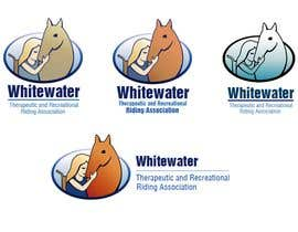 #71 para Logo Design for Whitewater Therapeutic and Recreational Riding Association de fecodi