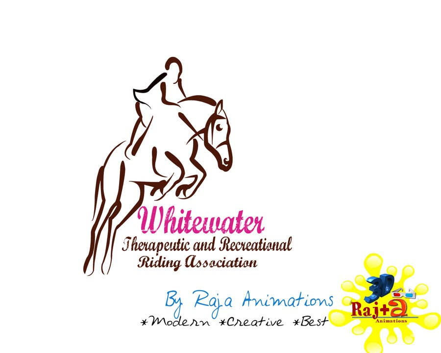 Inscrição nº 79 do Concurso para Logo Design for Whitewater Therapeutic and Recreational Riding Association