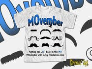 Contest Entry #32 for Design a T-Shirt for MOvember T-shirt Design