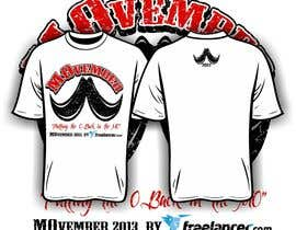 #36 untuk Design a T-Shirt for MOvember T-shirt Design oleh iYNKBRANE
