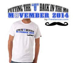 #16 for Design a T-Shirt for MOvember T-shirt Design by Othello1