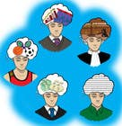 Illustration of the minds of people in five professions için Graphic Design36 No.lu Yarışma Girdisi