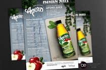 Graphic Design Entri Peraduan #25 for A4 flyer design for juice
