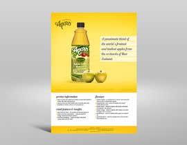 Nro 2 kilpailuun A4 flyer design for juice käyttäjältä feelingfine