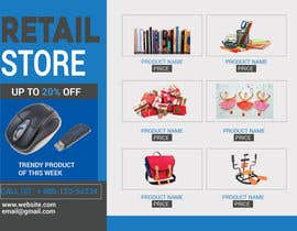 #3 for Flyer for a retails store which sells - Books, Stationary, Bags, Gifts , Toya, Art & Craft, Sport items, Fitness items. Pendries, mouse and other related sutff by SLP2008