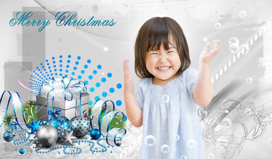 Bài tham dự cuộc thi #2 cho Digital Christmas card - style silver_glass