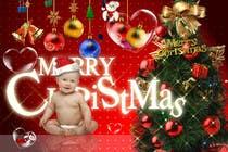 Bài tham dự #6 về Photoshop cho cuộc thi Digital Christmas Card - Style simplicity
