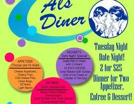 #3 for Design an Advertisement for Flyer for Restaurant af grafic2