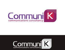 nº 440 pour Design a Logo for CommuniK par risonsm