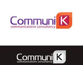 nº 484 pour Design a Logo for CommuniK par risonsm