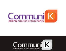 nº 487 pour Design a Logo for CommuniK par risonsm
