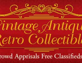 #9 para New Design header for an antique/vintage/retro web site por blackd51th