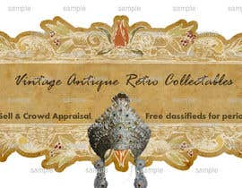 nº 1 pour New Design header for an antique/vintage/retro web site par Stuti29