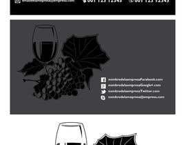 Nro 30 kilpailuun Diseño de un logotipo, tarjetas de presentación para una tienda de vinos käyttäjältä MaikyMike