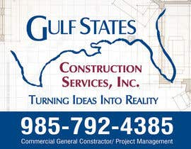 #37 for Design a Construction Company's Sign by amitcreative007