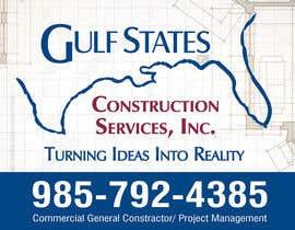 Nro 37 kilpailuun Design a Construction Company's Sign käyttäjältä amitcreative007