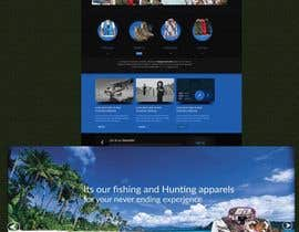 #9 for Sliding banner photos for a hunting and fishing website by e5ddesigns
