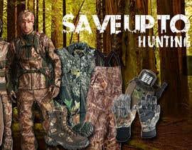 Nro 10 kilpailuun Sliding banner photos for a hunting and fishing website käyttäjältä edisontoh