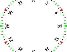 Nro 18 kilpailuun Draw an airplane compass käyttäjältä Naseem065