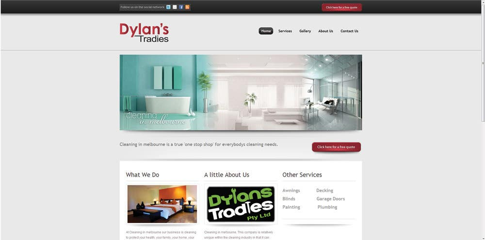 Contest Entry #56 for Logo Design for Dylan's Tradies