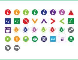 gopiranath tarafından Design  additional small icons which match in with our original icons için no 9