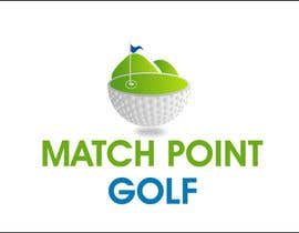 "#70 para Design a Logo for ""Match Point Golf"" por GoldSuchi"