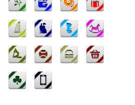 #9 untuk Icon or Button Design for Discount/Voucher Website oleh fconcepts