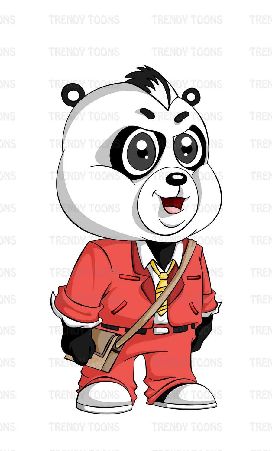 Contest Entry #4 for Illustration Design for Animation illustration for Panda cubs.
