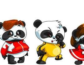 #77 for Illustration Design for Animation illustration for Panda cubs. af ramadhiansanjaya