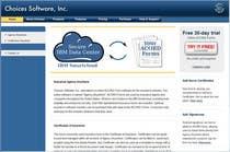 Graphic Design Inscrição do Concurso Nº3 para Illustration to be shown front and center on Choices Software, Inc. website