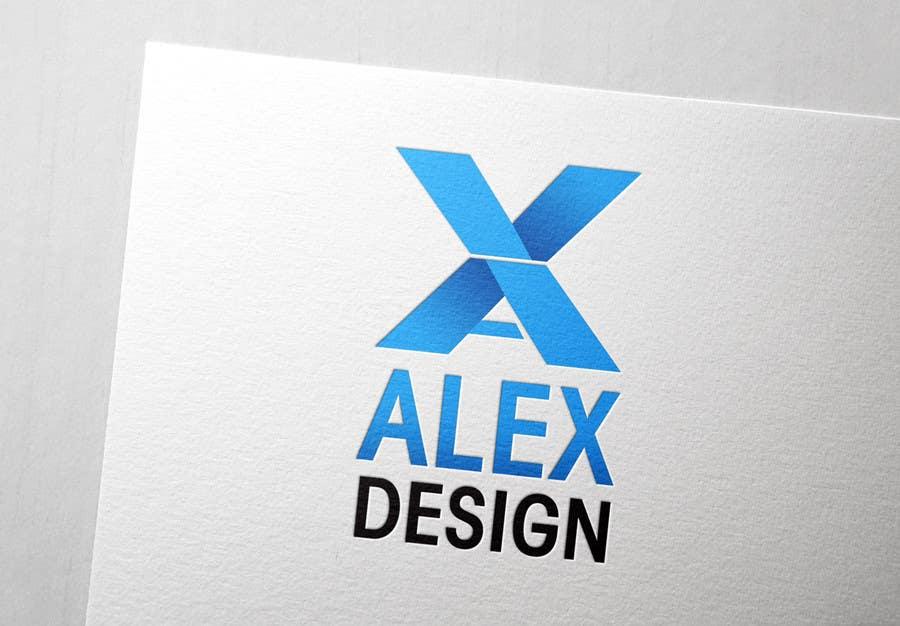 Penyertaan Peraduan #119 untuk Design a Logo for Alex Designs
