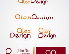 nº 17 pour Design a Logo for Alex Designs par qgdesign