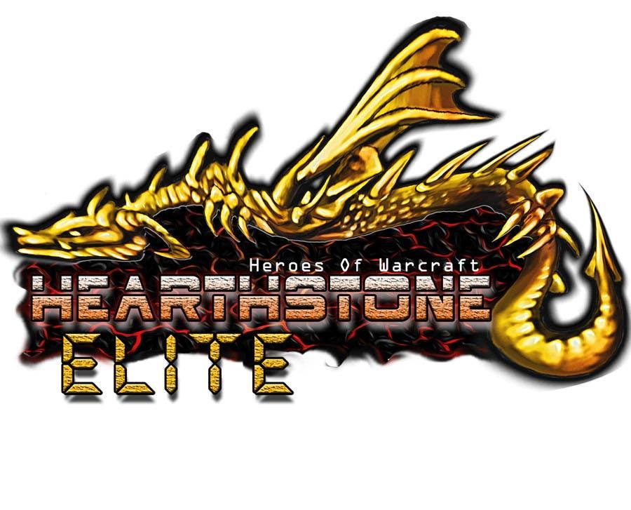 #11 for Design a Logo for HearthstoneElite.com by DanielAlbino
