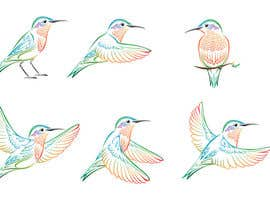 #10 para Draw 4 more birds - take two por elenabsl