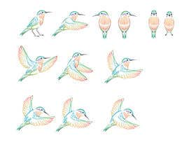 #12 para Draw 4 more birds - take two por elenabsl