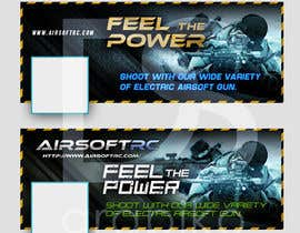 #5 para Design a Facebook landing page for airsoft site por dsgrapiko