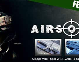 #3 para Design a Facebook landing page for airsoft site por ejdeleon