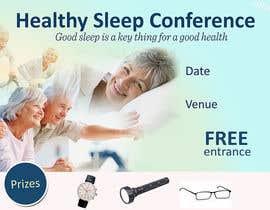 Nro 4 kilpailuun Design a Banner for healty sleep conference käyttäjältä jassna