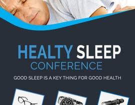Nro 15 kilpailuun Design a Banner for healty sleep conference käyttäjältä SLP2008