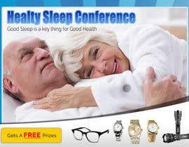 Nro 8 kilpailuun Design a Banner for healty sleep conference käyttäjältä cahkuli