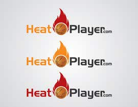 #10 para Design a Logo for HeatPlayers.com por farmanahmed2007