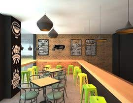 hiepinf tarafından 3D MAX render for a small fast food restaurant layout için no 13