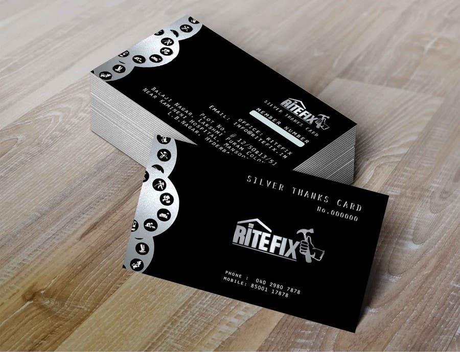 Kilpailutyö #7 kilpailussa Design member ship cards for my company
