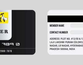 Nro 4 kilpailuun Design member ship cards for my company käyttäjältä aliakamakky
