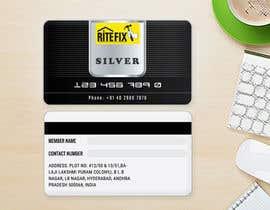Nro 6 kilpailuun Design member ship cards for my company käyttäjältä aliakamakky
