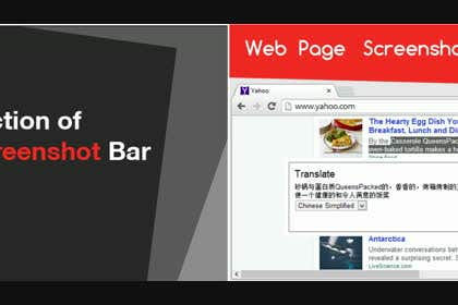 designreaktor tarafından URGENT! Create a Video PROMO for Webpage Screenshot Bar için no 10