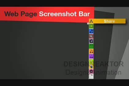 designreaktor tarafından URGENT! Create a Video PROMO for Webpage Screenshot Bar için no 13