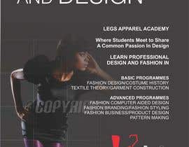 barinix tarafından Design a Fashion School Catalog and Flyer for LegsApparel için no 22